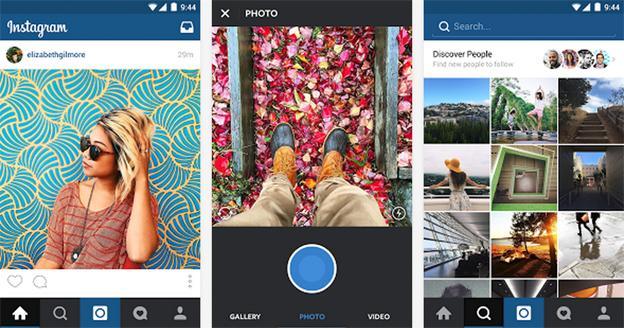 Aplicación de Instagram