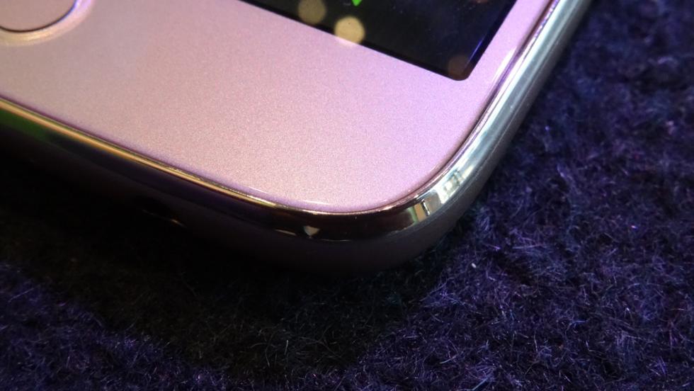 El móvil tiene unas esquinas bastante redondeadas