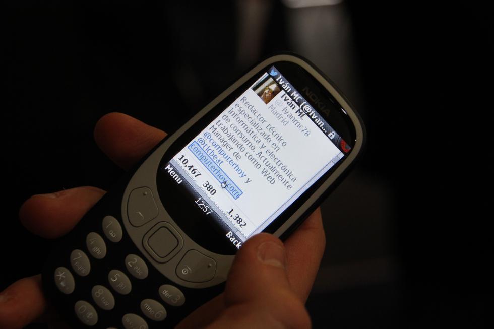 Así funciona Internet en el Nokia 3310