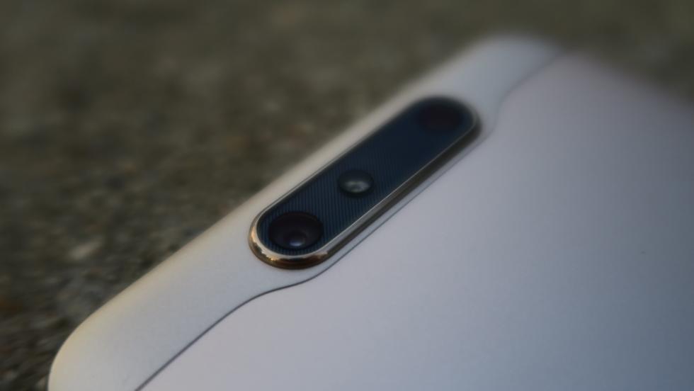 Detalle de la cámara dual