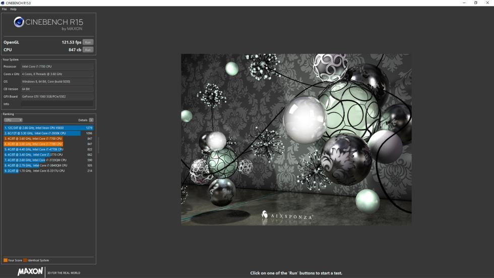 Asus ROG GR8 II, Benchmarks
