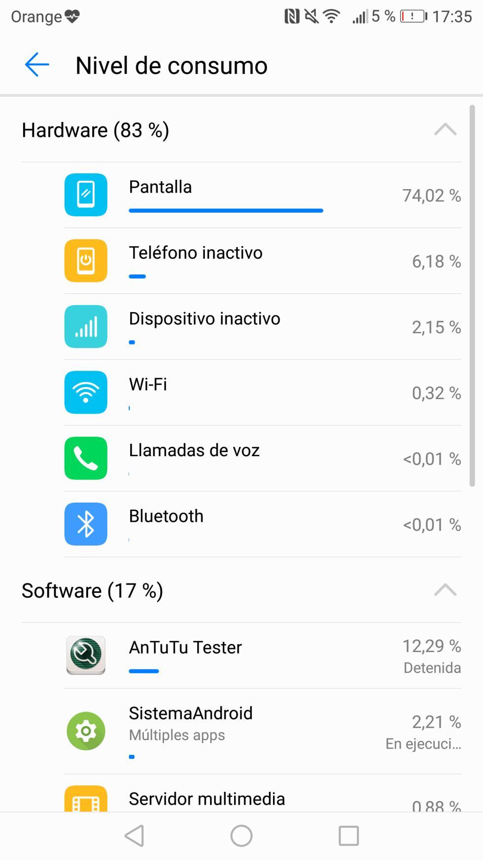 Batería del Huawei P10 Plus: consumo, autonomía y opciones de ahorro