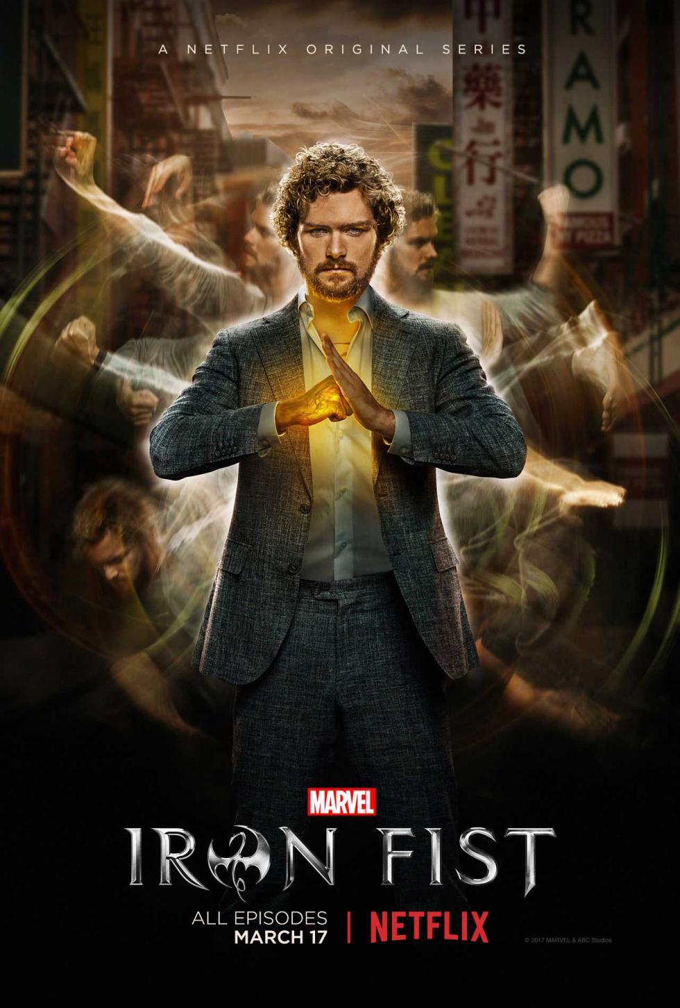 6. Iron Fist (2017)
