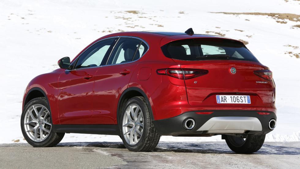 Prueba Alfa Romeo Stelvio trasera