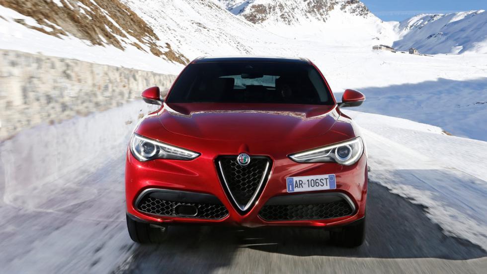 Prueba Alfa Romeo Stelvio frontal