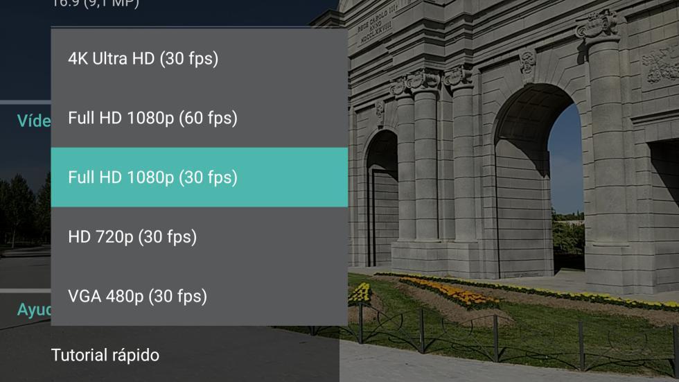A la hora de grabar vídeos, el nuevo Moto G5 Plus por fin es capaz de grabar a 4K
