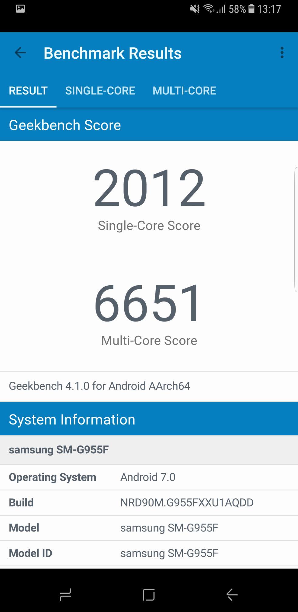 Para terminar, nuestra review del Samsung Galaxy S8+ también incluye la prueba de GeekBench 4