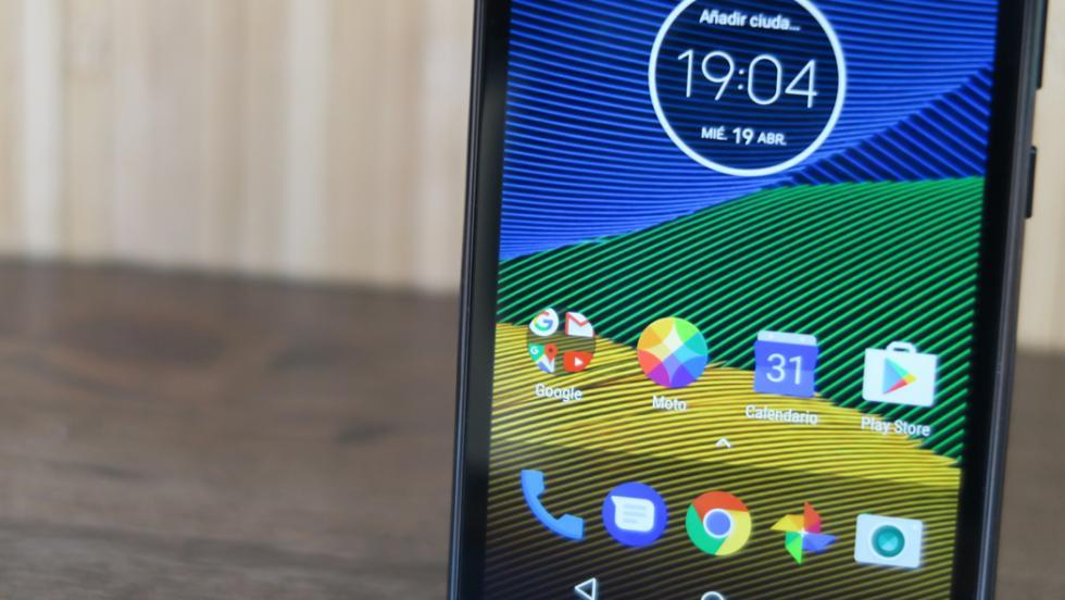 La pantalla es de cinco pulgadas, y tiene resolución Full HD, por lo que la nitidez de la imagen es absoluta