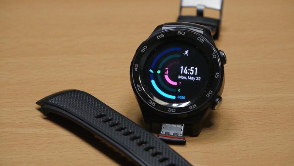 Fotografías del Huawei Watch 2