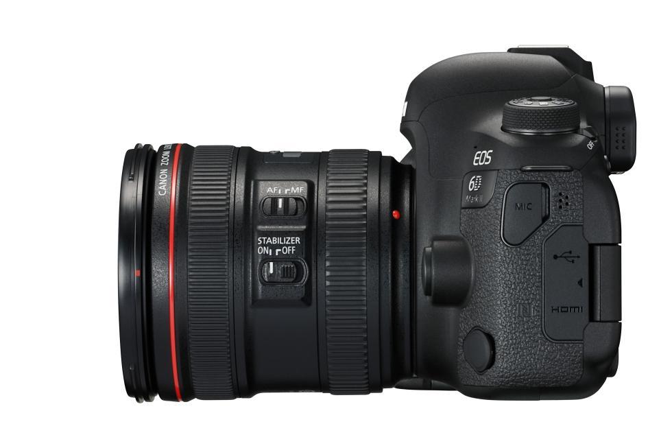 Canon presenta sus nuevas DSLR Réflex EOS 6D Mark II y 200D ...