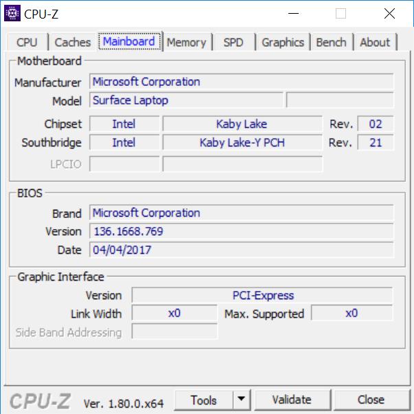Pruebas de rendimiento y benchmarks del Surface Laptop