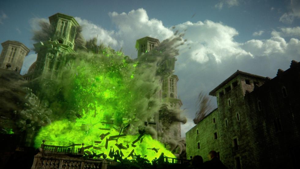 Aparentemente, todos los Tyrell excepto Olenna mueren en la explosión del Septo de Baelor. Eso daría fin a esta casa, aunque aún hay un Tyrell suelto. Se trata de Willas Tyrell, el auténtico heredero de Altojardín.