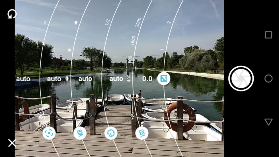 Aplicación de cámara del Moto Z Play de 2ª generación