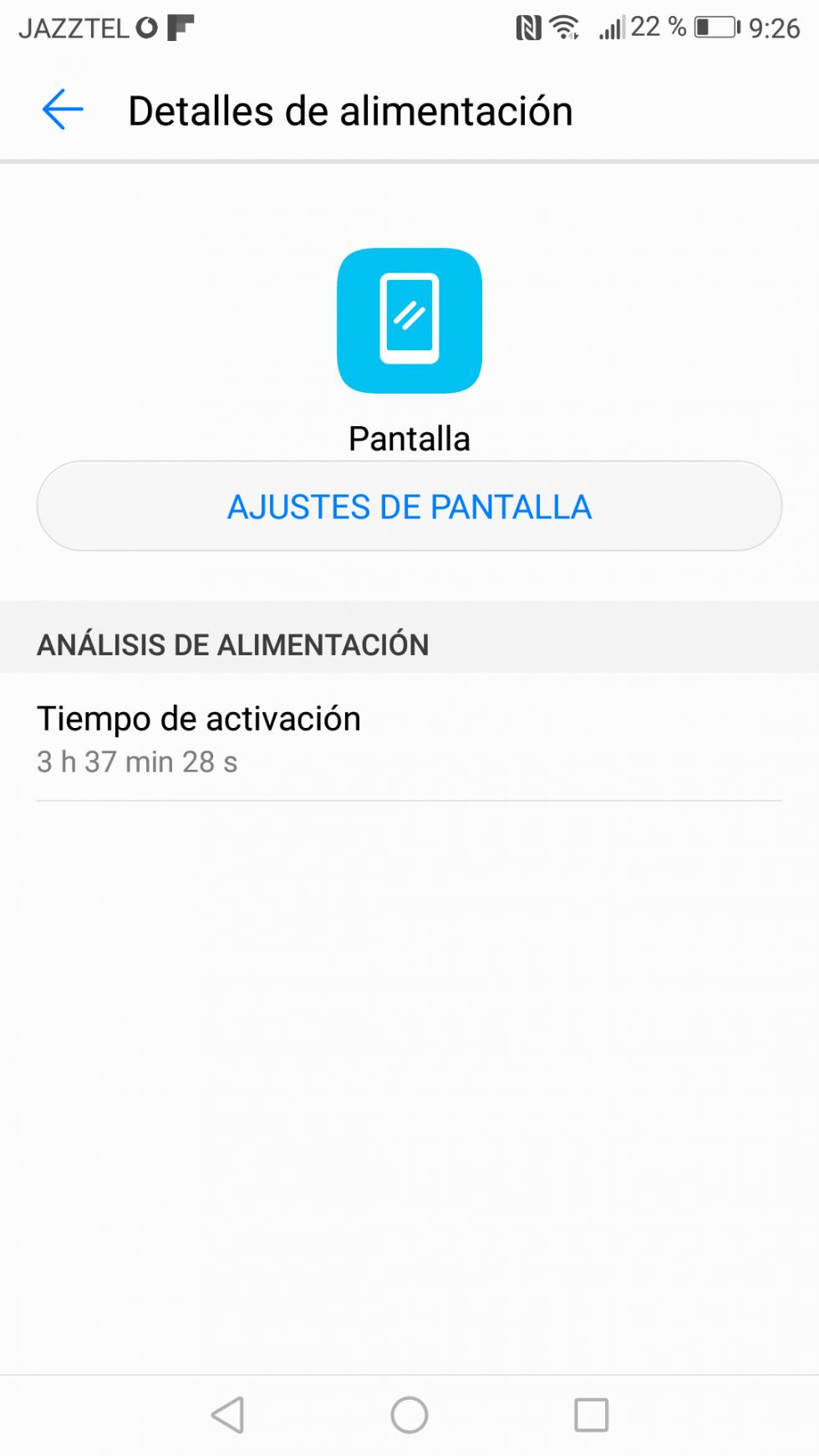 Batería del Huawei P10 Lite: consumo, autonomía y opciones de ahorro