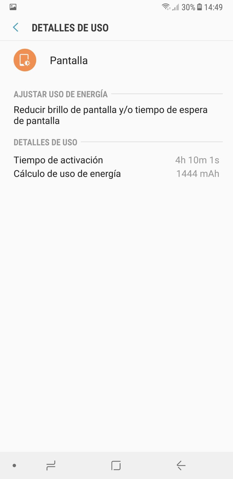 Batería del Samsung Galaxy Note 8: consumo, autonomía y opciones de ahorro