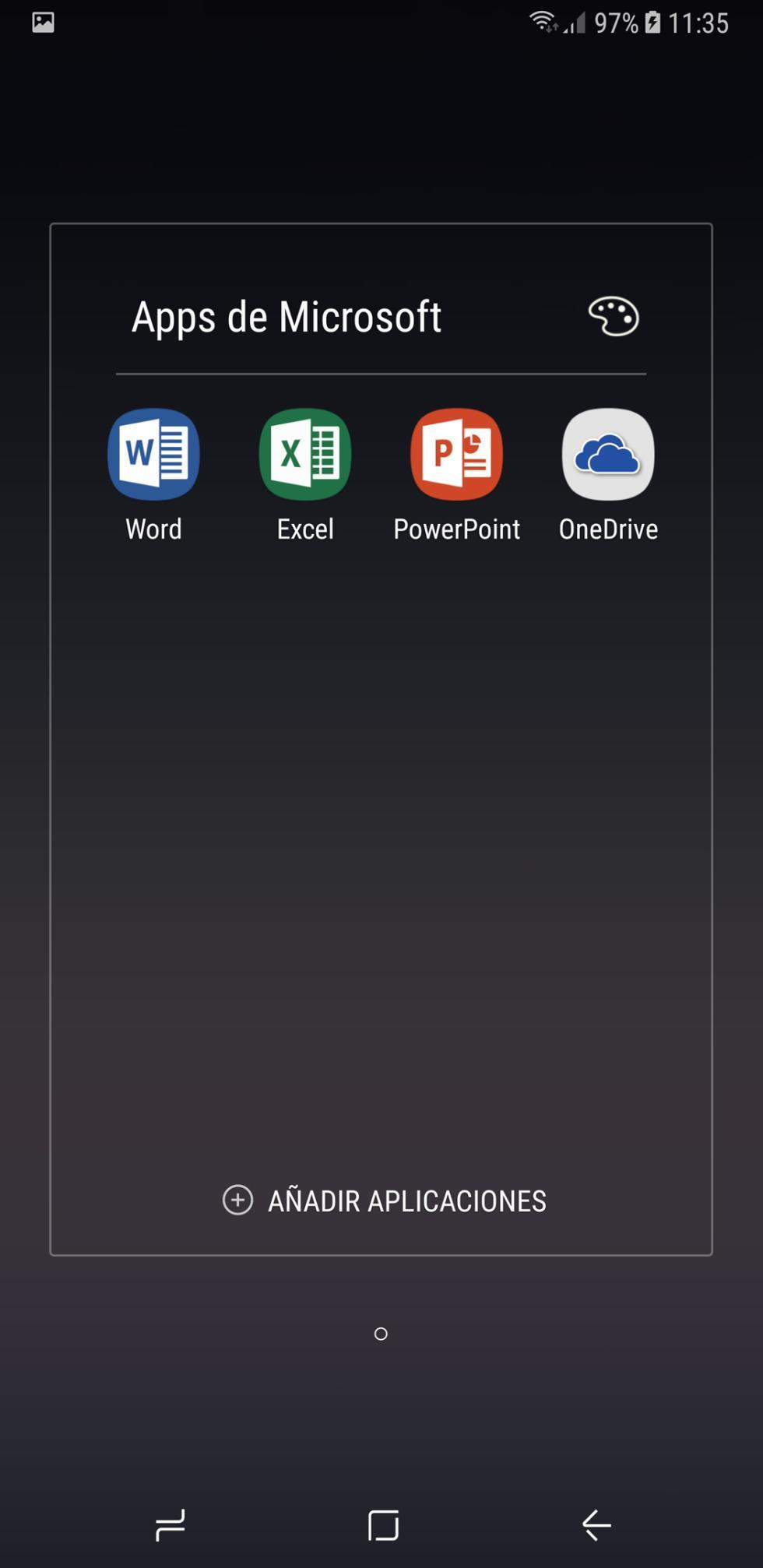 Interfaz del Samsung Galaxy Note 8