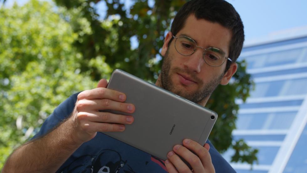 Fotografía de la Huawei MediaPad T3 8.0.