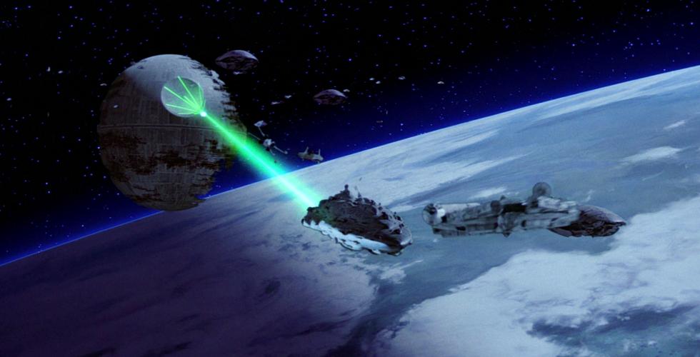 El sonido no se transmite en el espacio, por eso todas las películas de ciencia ficción mienten. Al no haber aire por el que transmitirse, las ondas sonoras no se mueven.
