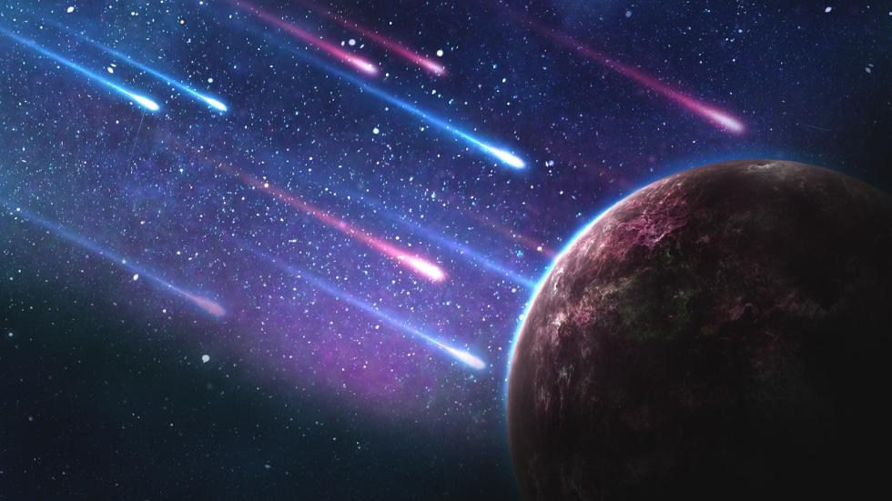 Los asteroides no arden en el espacio, al contrario: viajan a temperaturas gélidas. Sólo prenden fuego debido a la fricción con la atmósfera terrestre.