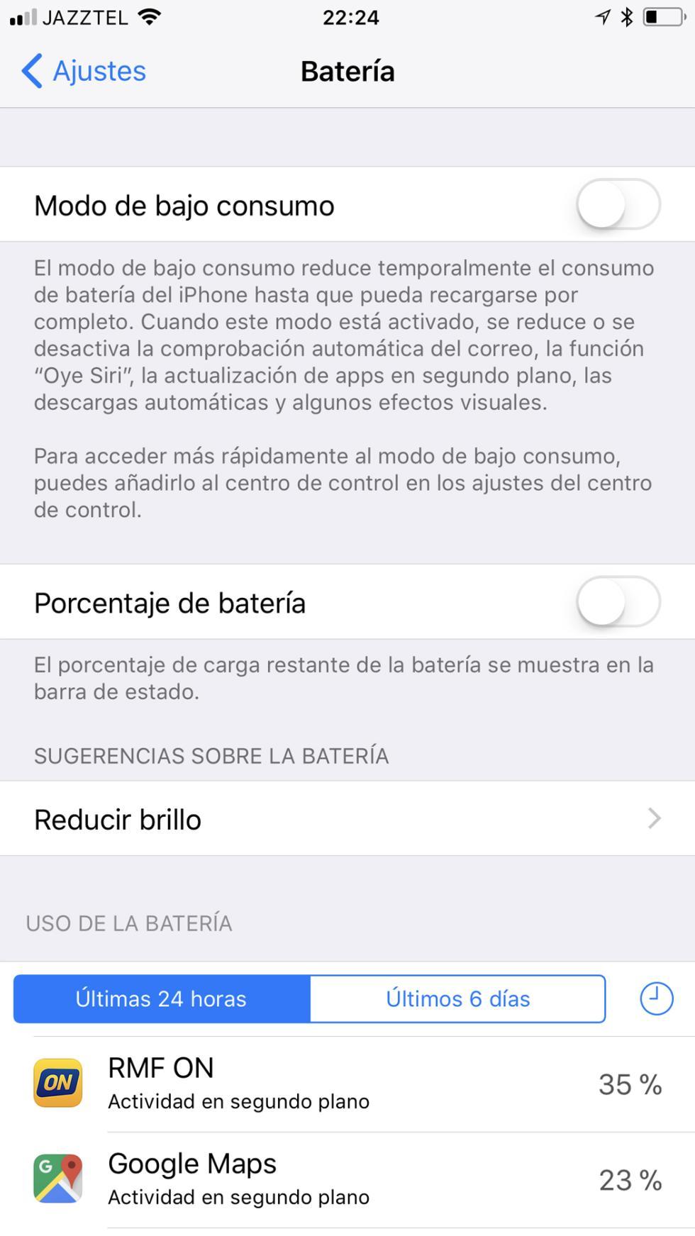 Batería del iPhone 8 Plus: consumo, autonomía y opciones de ahorro