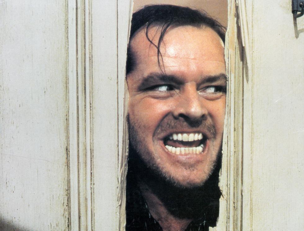 Jack Torrance de El Resplandor.