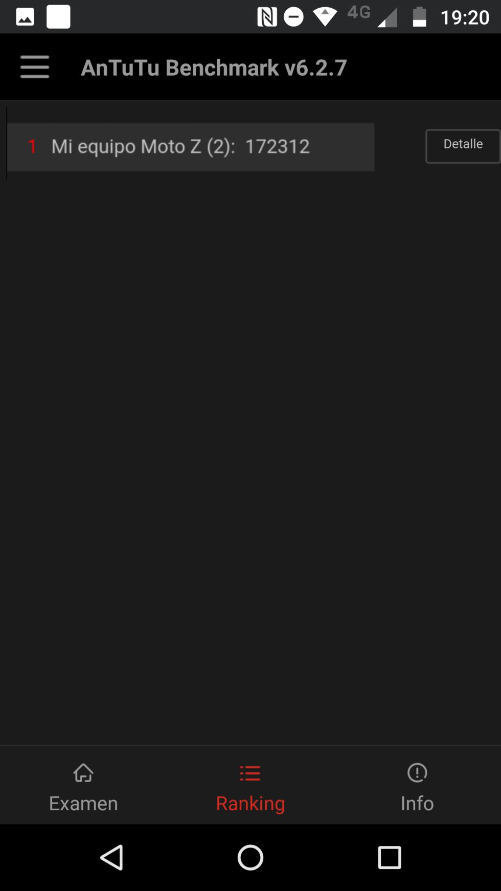 Pruebas de rendimiento del Moto Z2 Force: AnTuTu, 3DMark y GeekBench 4