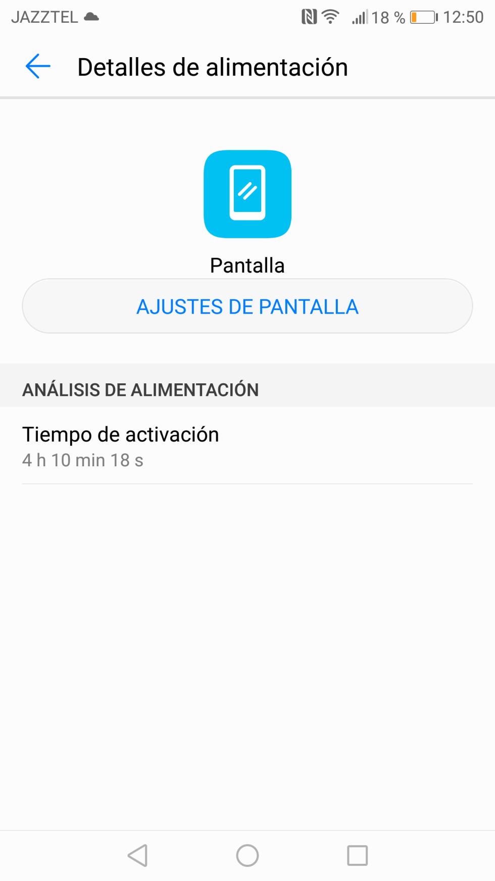 Batería del Huawei Mate 10: consumo, autonomía y opciones de ahorro