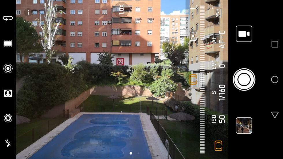 Aplicación de cámara del Huawei Mate 10