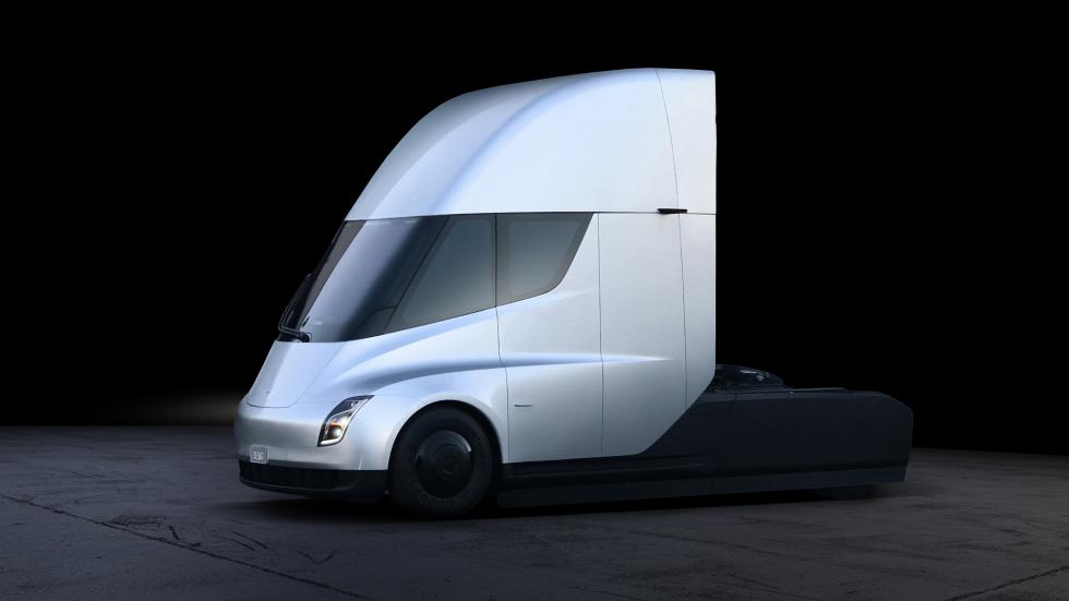 Imágenes del Tesla Semi