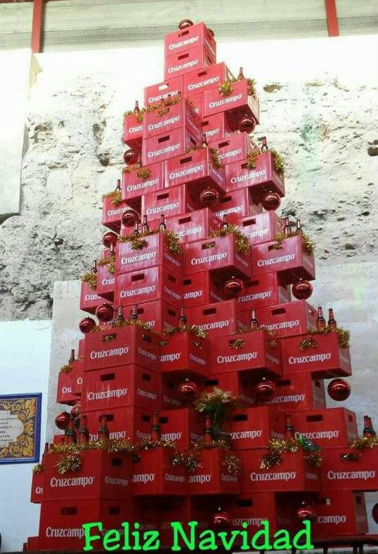 Felicitación graciosa de navidad.