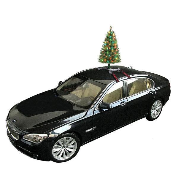 Un árbol de Navidad para el coche