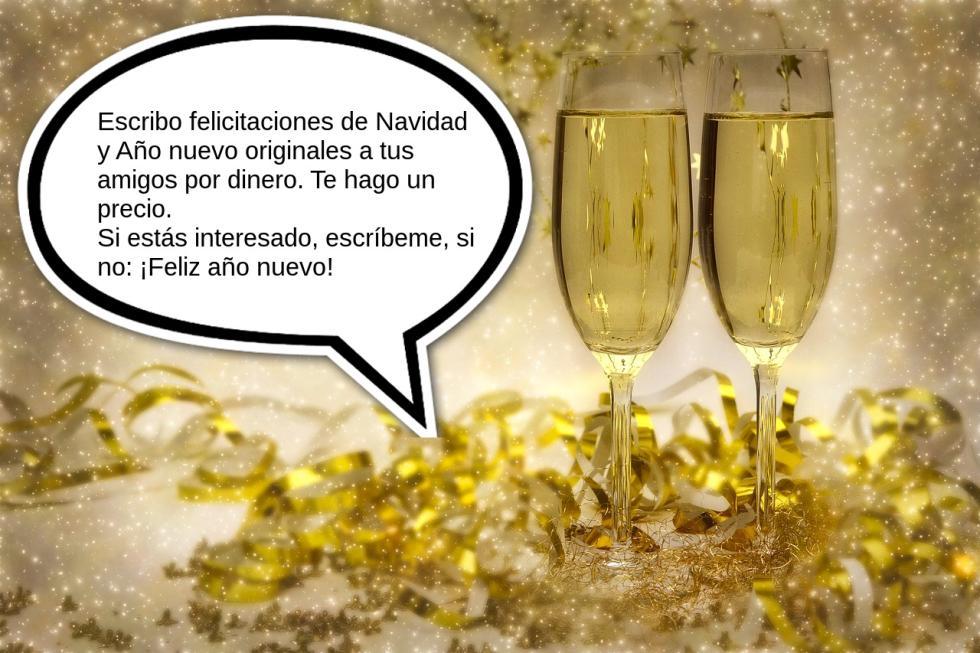 Felicitaciones de Año Nuevo originales