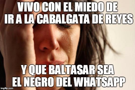 ¿Y si descubres que Baltasar es el famoso negro de WhatsApp?