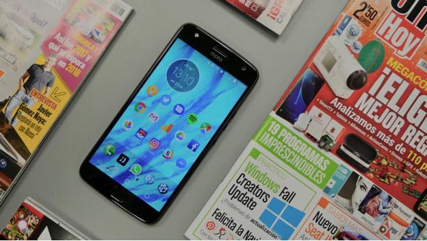 Imagen del Motorola Moto X4.