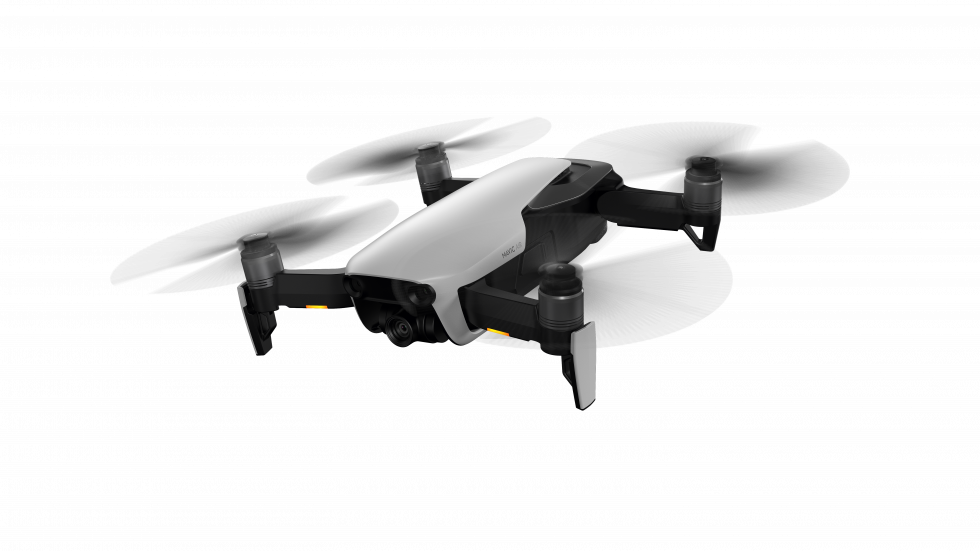 Mavic Air Artic White (volando)