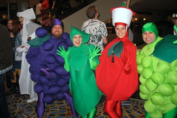 disfraz de fruta