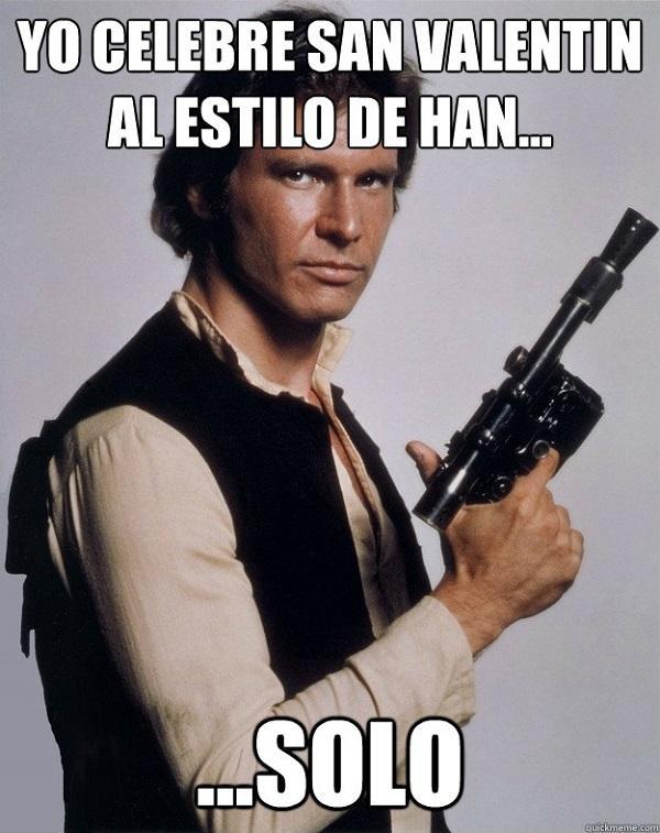 Meme de Han Solo