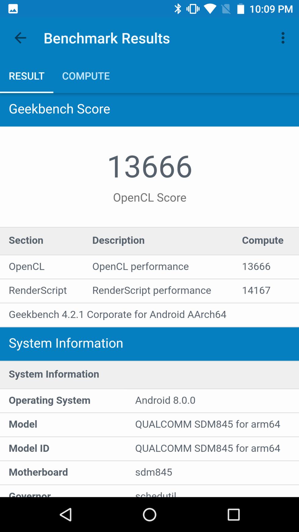 Benchmarks Snapdragon 845