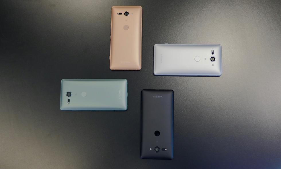 Diseño del Sony Xperia XZ2 y XZ2 Compact
