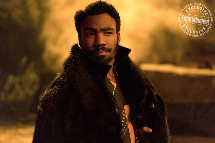Lando Calrissian en Han Solo: Una historia de Star Wars