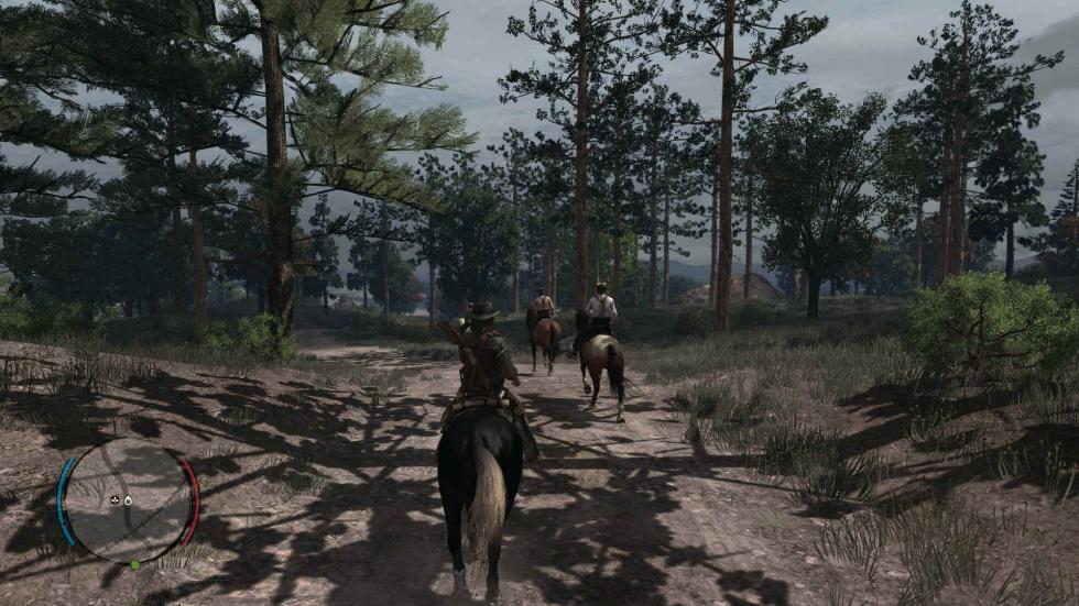 Red Dead Redemption Xbox One X 4K