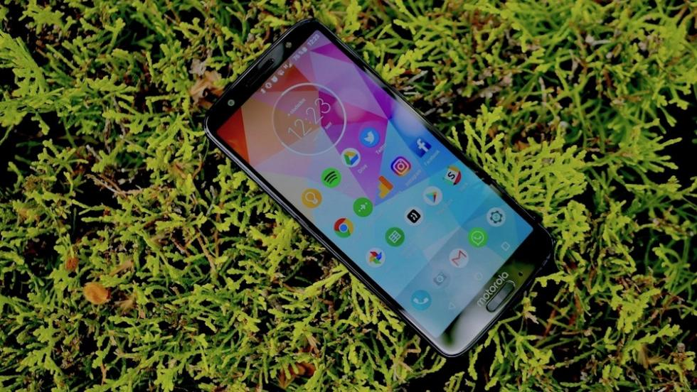 Fotos del diseño del Motorola Moto G6