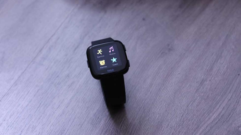 Interfaz del Fitbit Versa