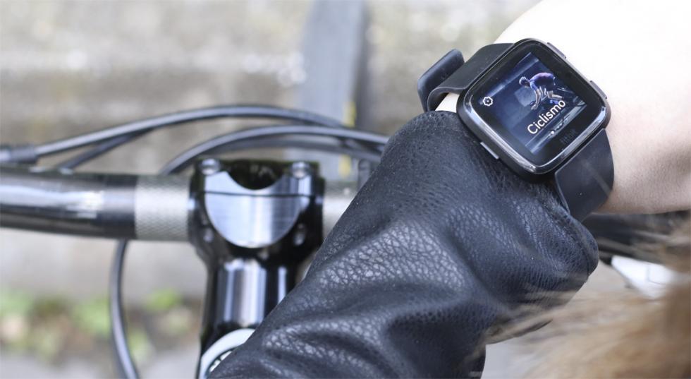 Modo de ciclismo del Fitbit Versa