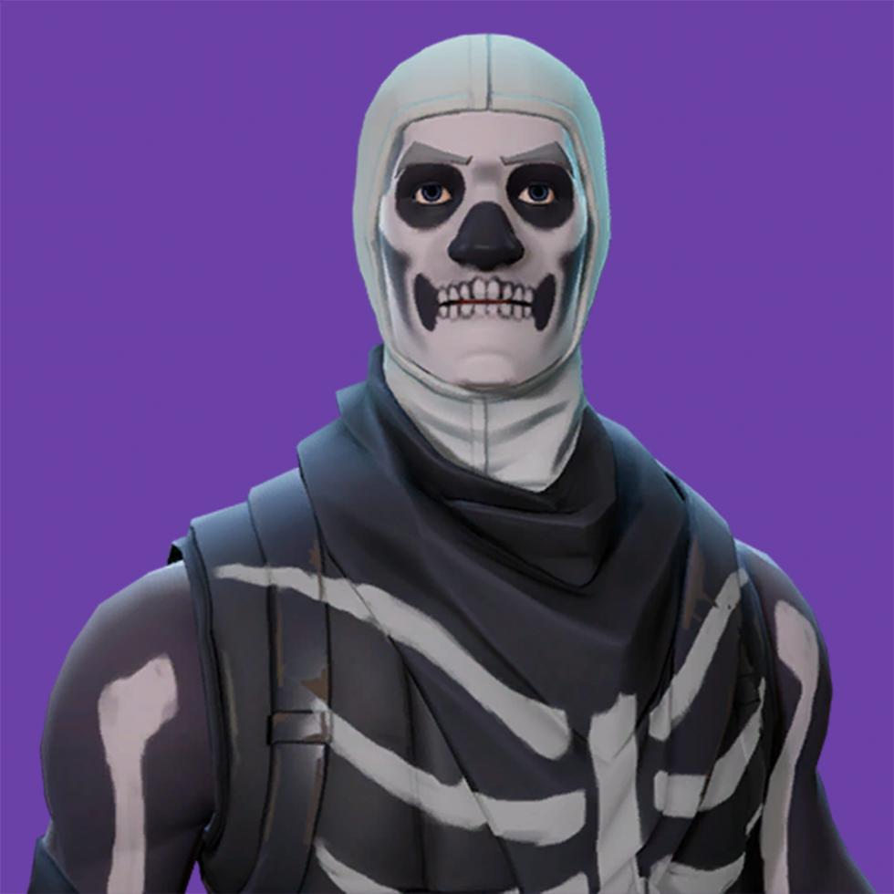 Skins de Fortnite - Skull Trooper