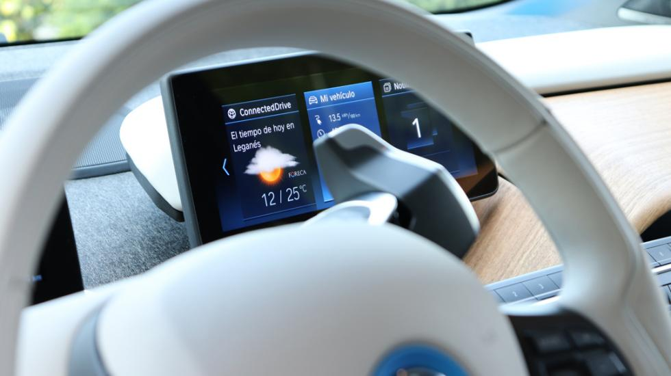 Interior del BMW i3 2018