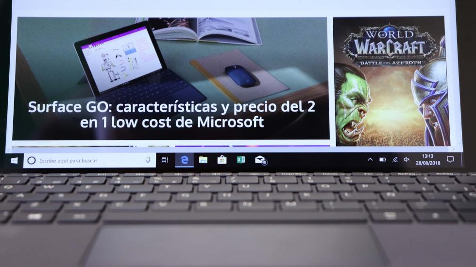Análisis de Surface Go