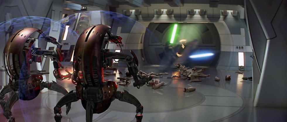 Poderes aplicadosde la Fuerza en Star Wars
