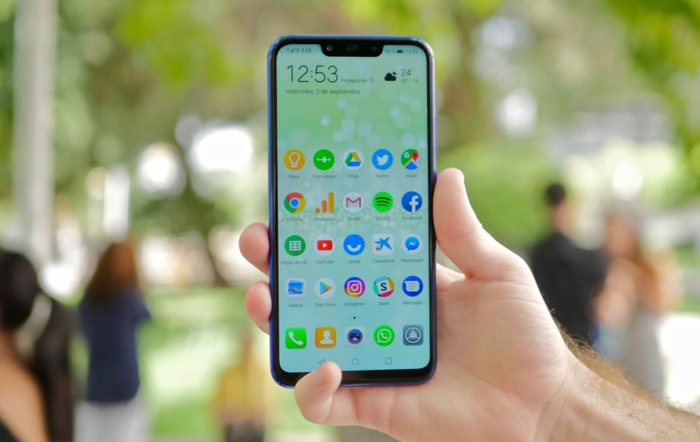 Fotografías del diseño del Huawei P Smart Plus