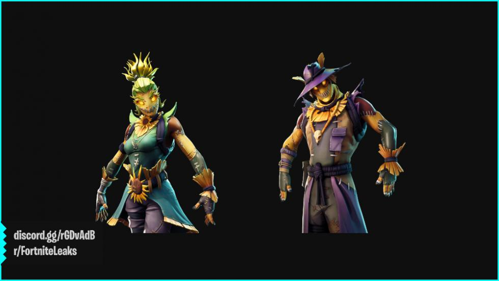 Nuevas skins de Halloween de Fortnite Battle Royale